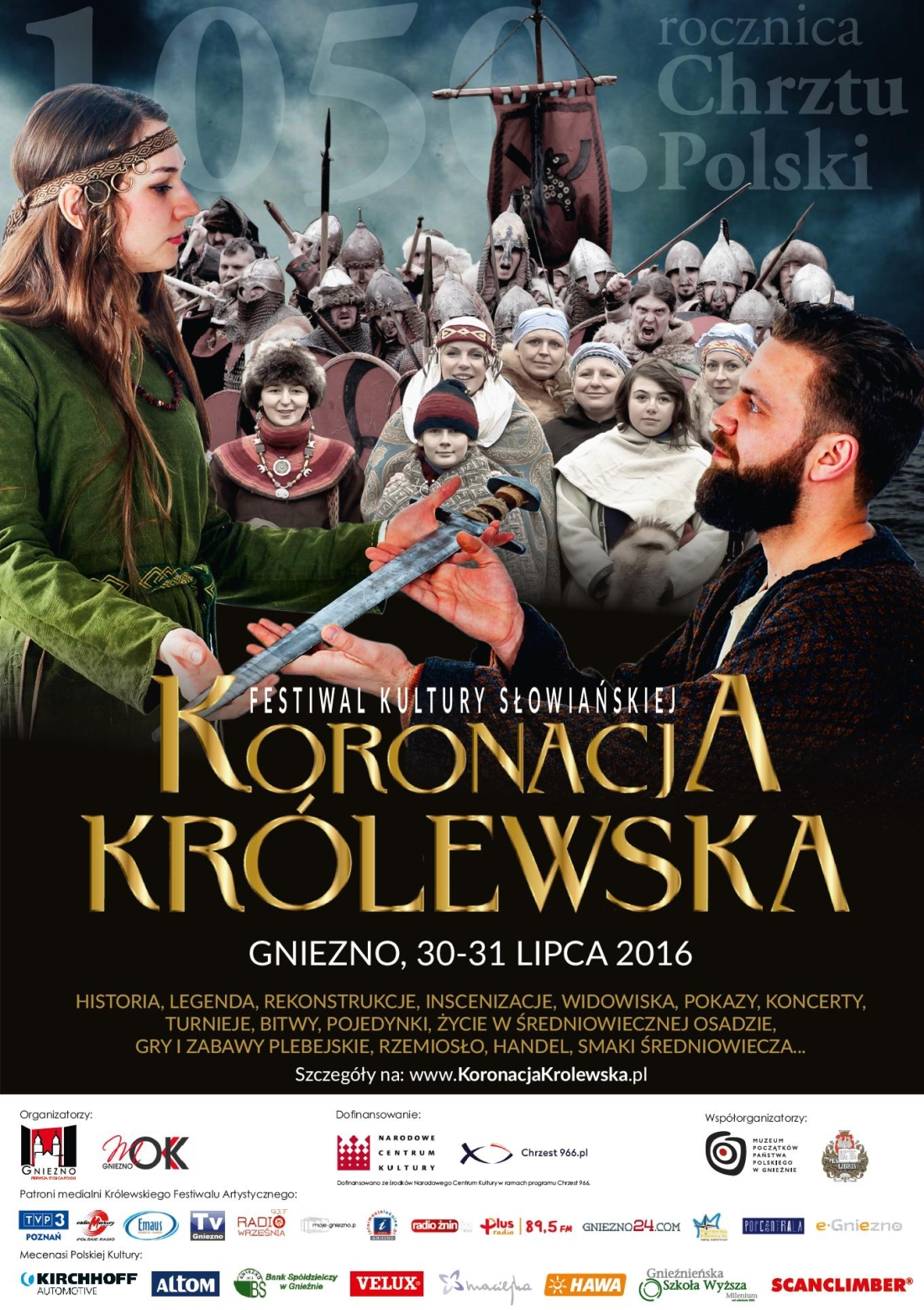 Gniezno: Koronacja Królewska. Festiwal Kultury Słowiańskiej